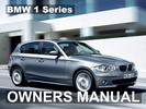Thumbnail BMW 2009 128i 135i CONVERTIBLE COUPE WITH IDRIVE OWNERS OWNER'S USERS OPERATORS MANUAL