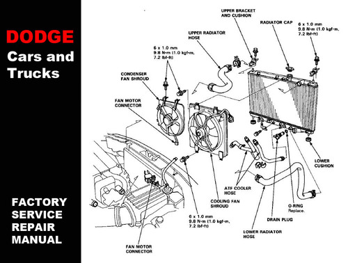 2002 dodge caravan cooling system diagram  2002  free