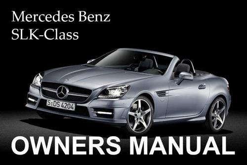 Mercedes Slk 320 Owners Manual
