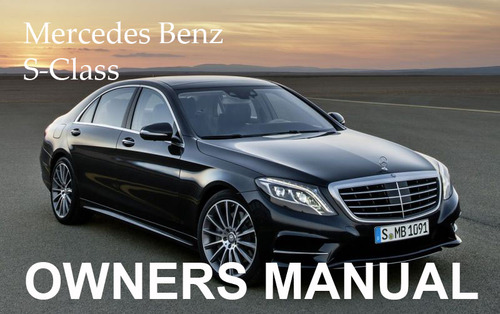Mercedes benz 2002 s class s430 s500 s600 s55 amg owners for Mercedes benz user manual