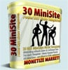 Thumbnail 30 Mini Niche Site Templates w/ Master Resell Rights!