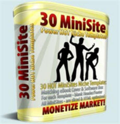 Pay for 30 Mini Niche Site Templates w/ Master Resell Rights!