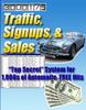 Thumbnail traffic signups and sales