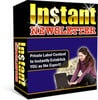 Thumbnail Instant Newsletter (with resell rights)