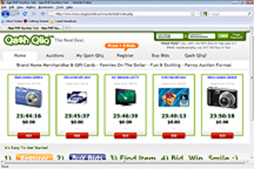 Pay for AJAX PHP PENNY AUCTION: version 1.4
