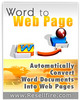 Thumbnail Convert Word Docs to Webpages Quickly & Easily