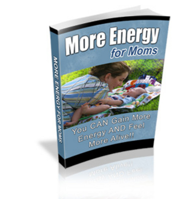 Pay for How Moms can Gain more Energy
