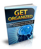 Thumbnail Get Organized Ebook With MRR