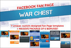 Thumbnail Facebook Fanpage Warchest Templates With PLR
