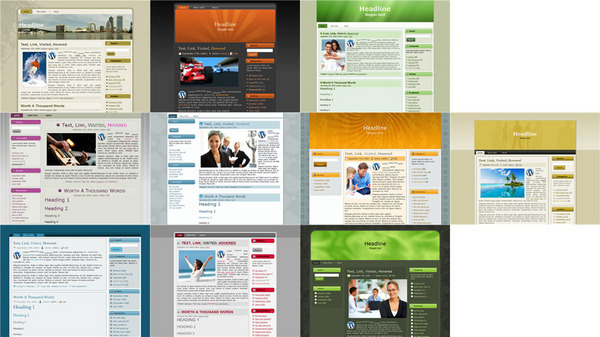 Pay for 10 WordPress Theme List Builder Pack With PLR