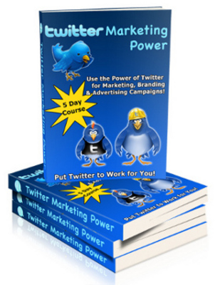 Pay for Twitter Marketing Power Pack With Plr