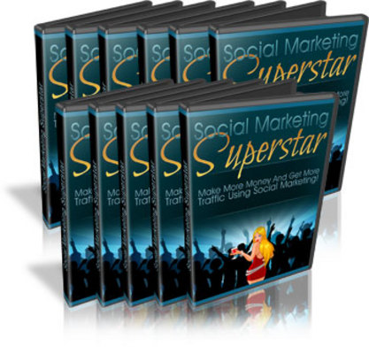 Pay for Social Marketing Superstar Ebook and Videos (MRR)