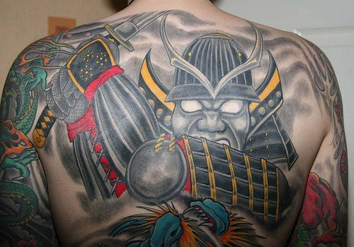 Pay for Japanese Demon Tattoos
