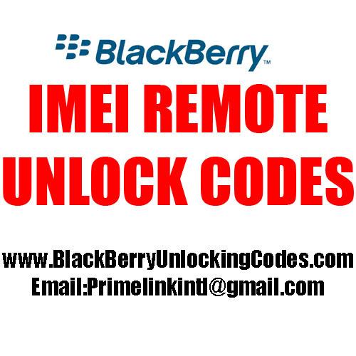 Pay for Imei unlock code  Claro El Salvador BlackBerry Torch 9860.