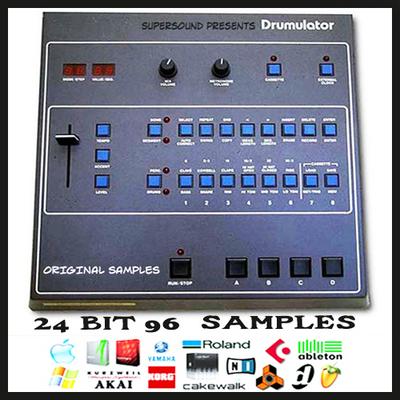Pay for emu e-mu drumulator vintage drum machine original 24 bit 96Khz 24bit 96 khz sample