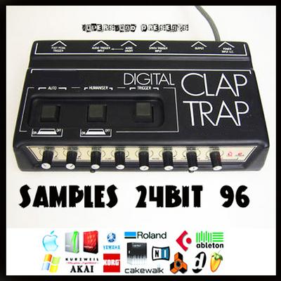 Pay for Simmons digital drum clap trap sounds analog vintage drum machine loop loops sample