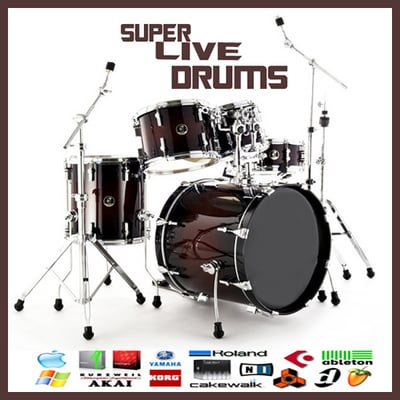 Pay for Live drums pop rock metal dub reggae drums reason sample