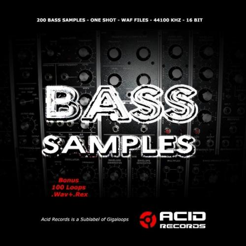 Pay for Acid Records - 200 Bass Samples