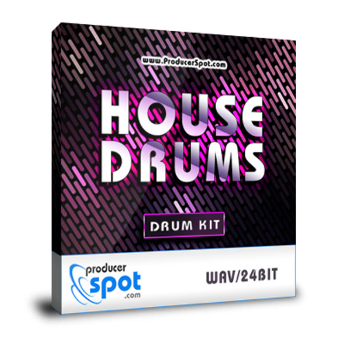 Pay for House Drum Hits - One Shots Drum Kits