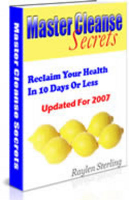 Pay for Master Cleanse Secrets 10 Day Diet