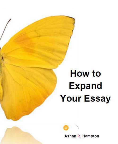 Pay for How to Expand Your Essay Collection
