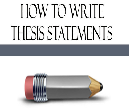 Pay for Writing Thesis Statements Collection