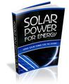 Thumbnail Solar Power For Energy