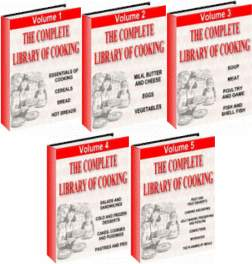 Thumbnail The Complete Library Of Cookbooks