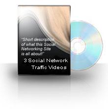 Pay for 3 Social Network Traffic Videos  MRR