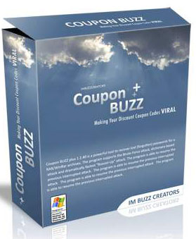 Pay for Coupon Buzz  -  Coupon Code Generator Software
