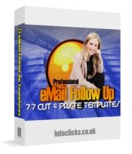 Pay for Professional Email Follow Up Package - Master Resell Rights