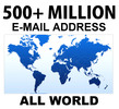 Thumbnail 500,000,000 Opt-in Internet Marketing Email Address List