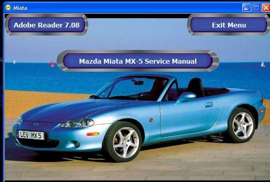 Mazda Miata 1999. 1999-2000 Mazda Miata Factory