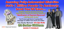 Thumbnail 6 dollar millions minni website business