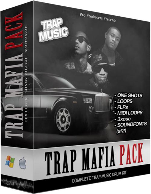 Trap 808 Mafia Pack - Lex Luger - Sonny Digital - Southside