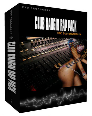 Pay for Club Bangin Rap Pack - 4 ALL RAP STYLES