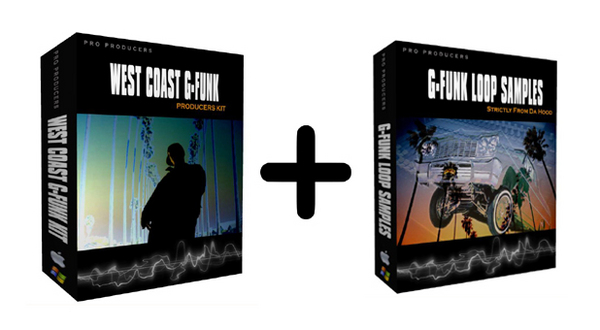 Pay for G-FUNK PRODUCERS KIT VOL.I + Free G Funk Loop Samples Pack