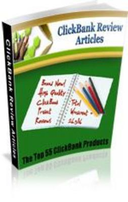Pay for Hot ClickBank Product Review Articles