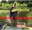 Thumbnail Money Making Fishing Tips Blog Niche Website