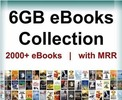 Thumbnail 6GB  eBooks Collection Links  with Resale  Rights