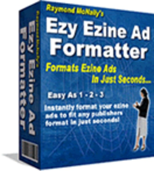 Pay for Ezy Ezine Ad Formatter Resell Rights