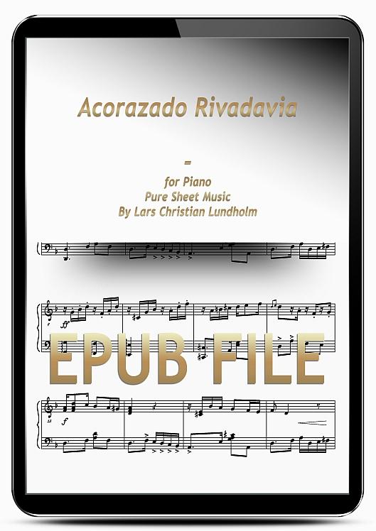 Thumbnail Acorazado Rivadavia for Piano (EPUB file), Pure Sheet Music as Ebook arranged by Lars Christian Lundholm