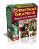 Thumbnail Christmas Angels and Animals Graphics