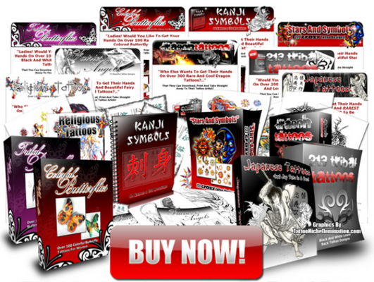 Pay for 1200 Tattoo Art Pack