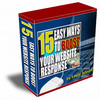 Thumbnail 15 Easy Ways to Boost Your Website Response (MRR)