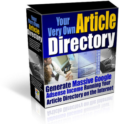 Pay for Your Own Article Directory with MRR