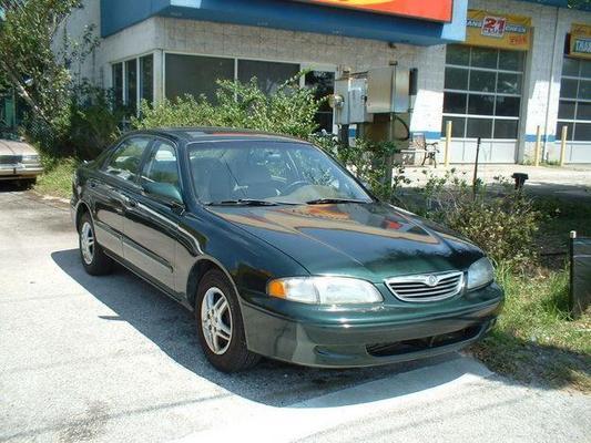 Mazda 626 Service Repair Manual 1995-2002