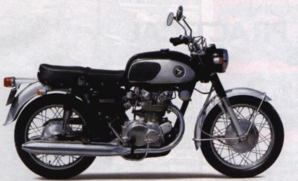 Honda twins manual
