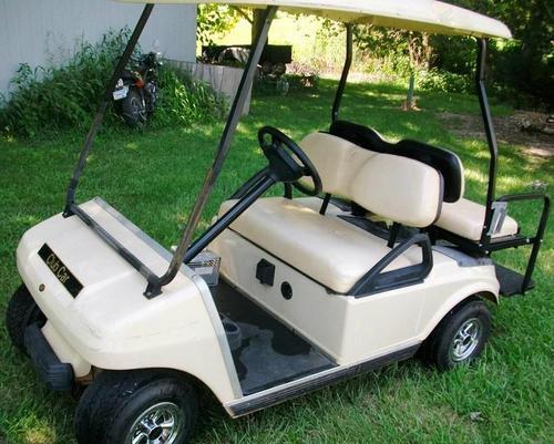 Wiring Diagram For 2005 Club Car Golf Cart : Club car ds gas golf cart wiring diagram