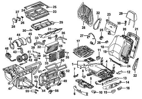 chevy hhr 2006-2011 parts manual